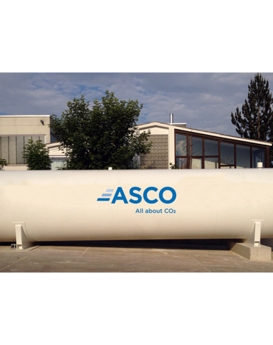 ASCO Vacuum Insulated CO2 Storage Tank