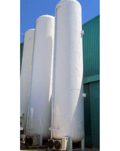 ASCO Polyurethane Insulated CO2 Storage Tank