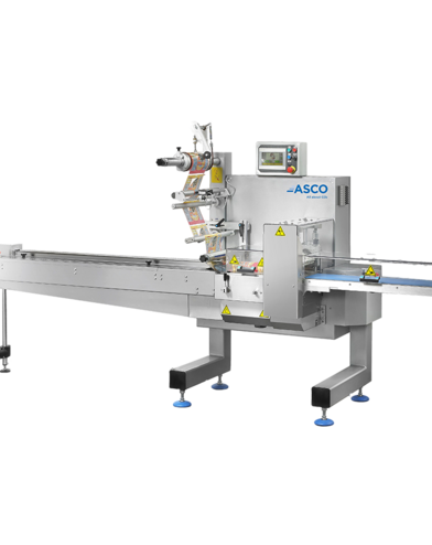 ASCO dry ice wrapping machine APM120 for slices